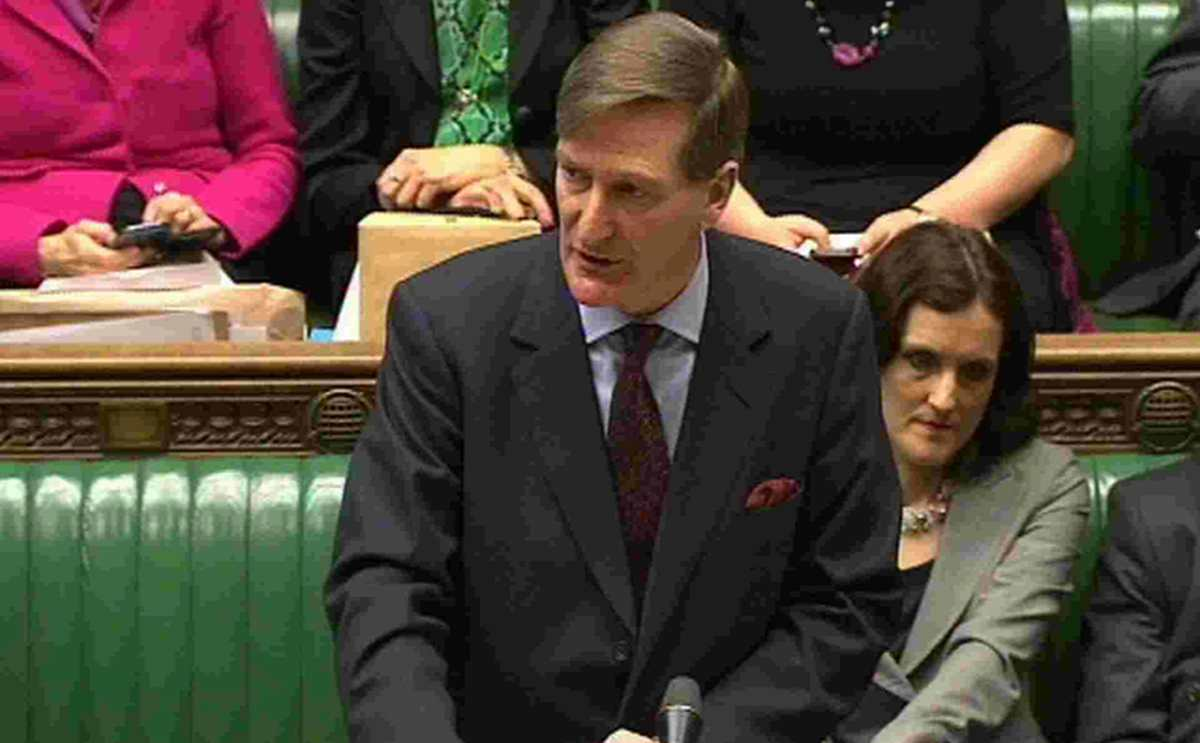 POISED TO ACT: Attorney General Dominic Grieve