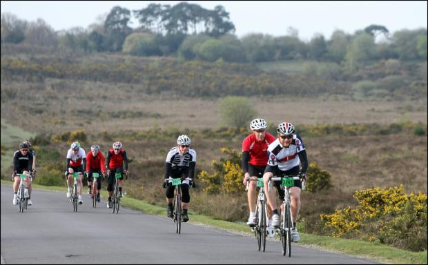 New rules for mass cycling events in the New Forest