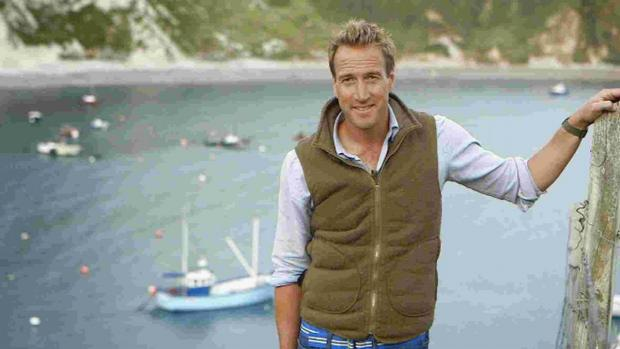 Bournemouth Echo: POPULAR: Ben Fogle at Lulworth Cove
