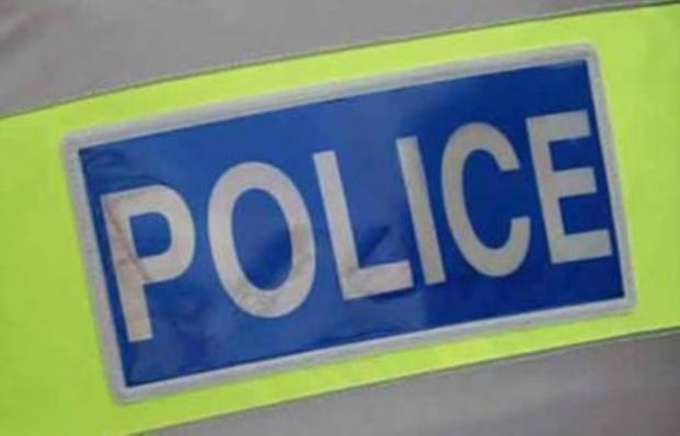 Two-car crash blocks road at Gravel Hill in Poole