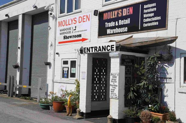 Bournemouth Echo: APPLICATION: Molly's Den warehouse
