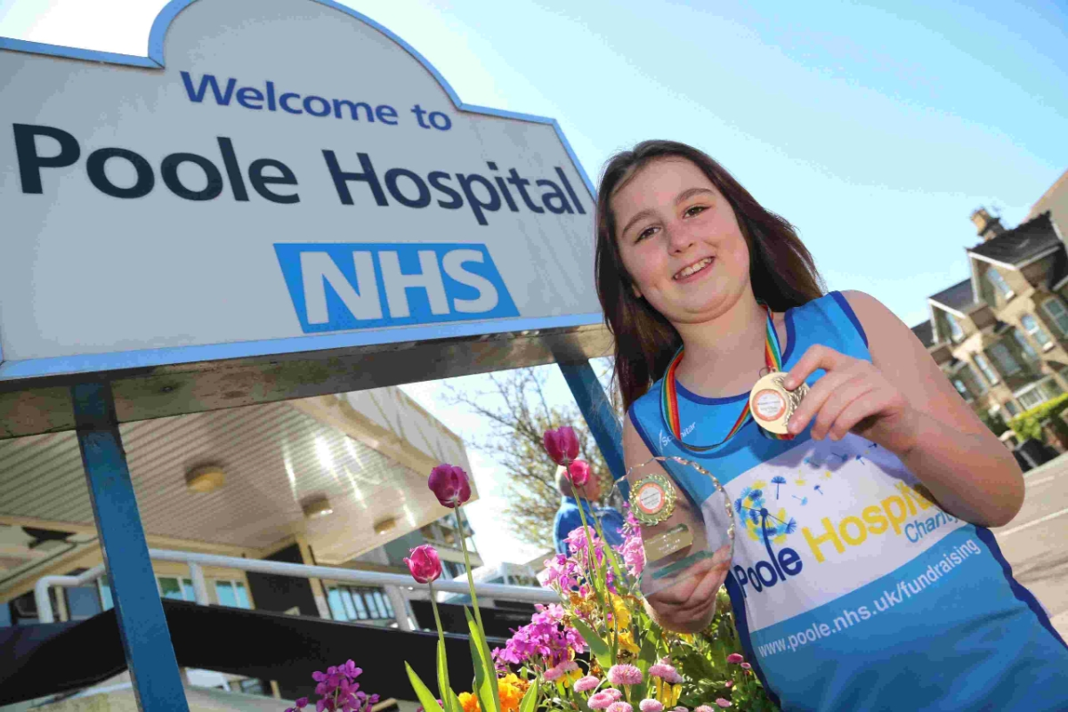 SUPERSTAR: Olivia Taylor is taking part in the Poole Festival of Running in June