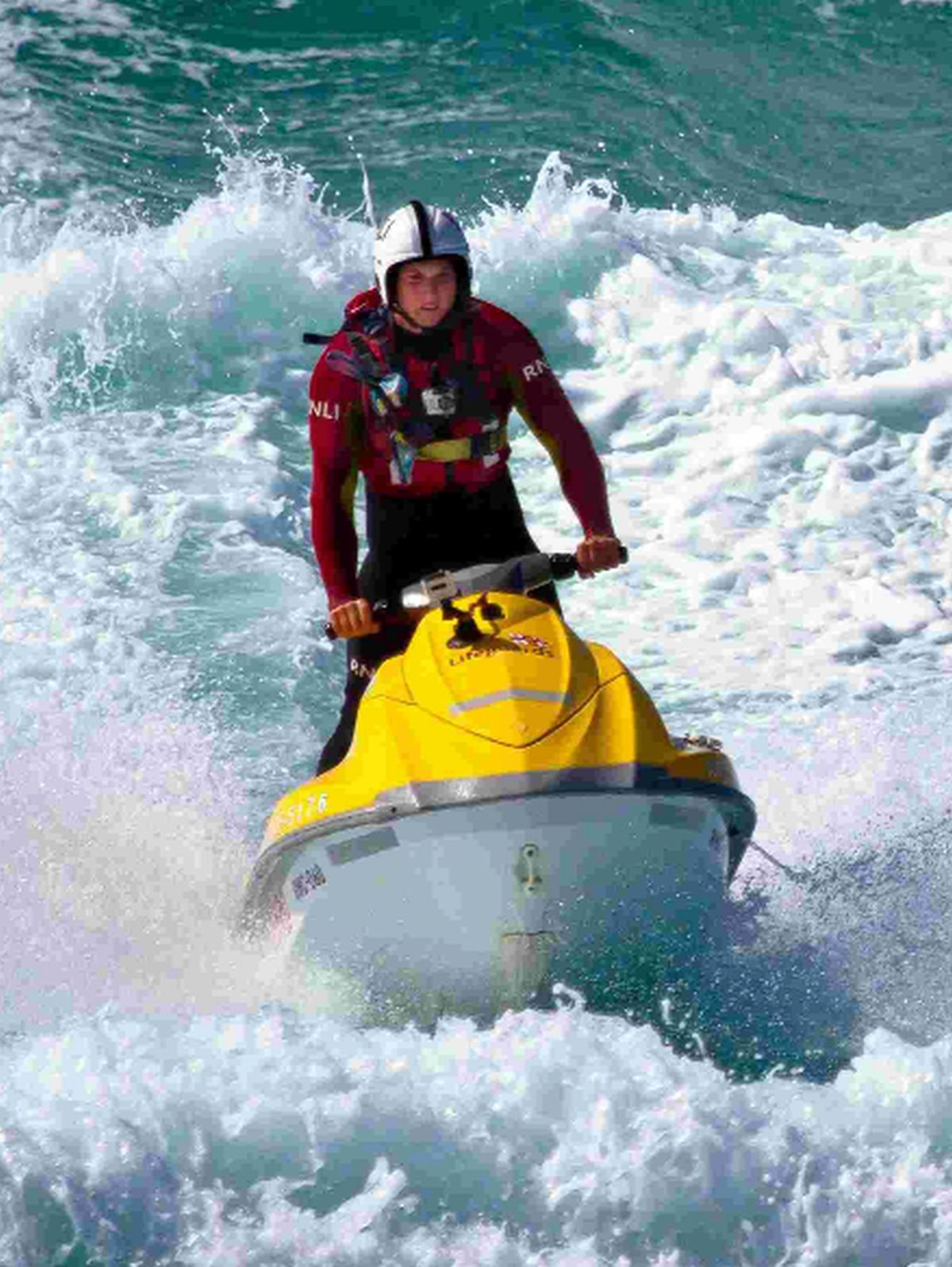 ON PATROL: The RNLI is providing lifeguard cover at beaches