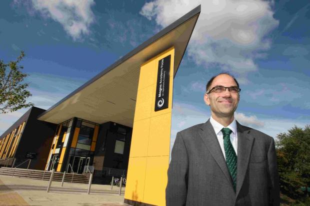 LONGER DAY: Richard Tutt, principal of Magna Academy Poole
