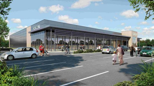 APPLICATION: Developers are to pursue plans for a supermarket at Meteor Retail Park