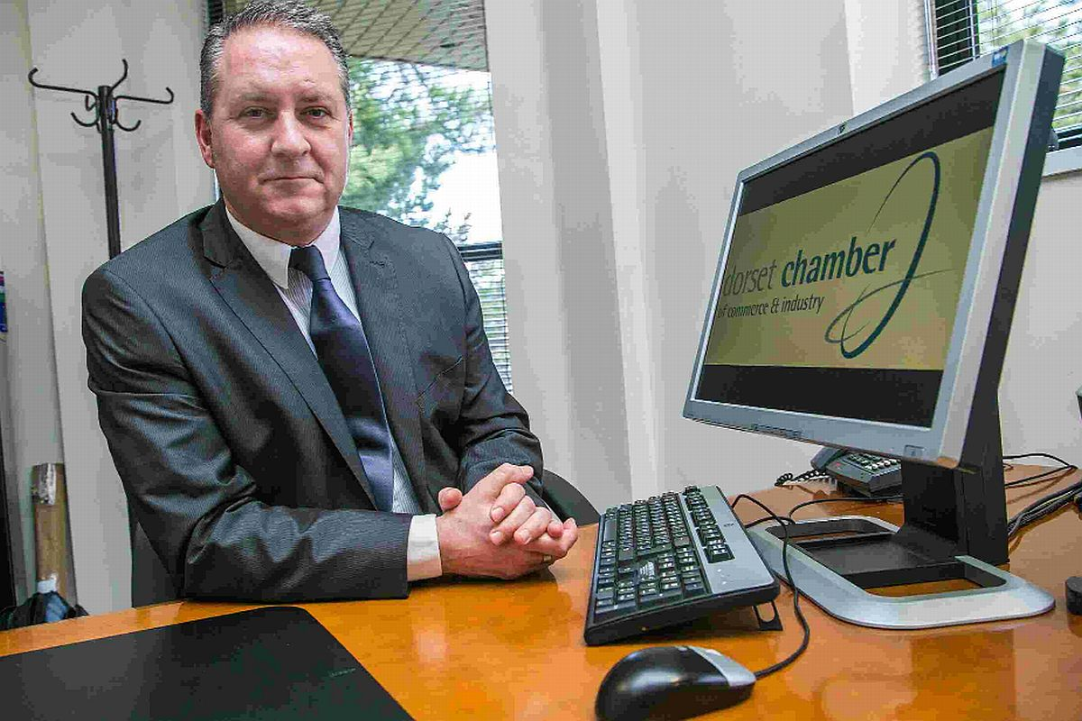Ian Girling, chief executive, Dorset Chamber of Commerce and Industry