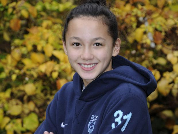 PARALYMPIC HOPEFUL: Bournemouth Collegiate's Alice Tai