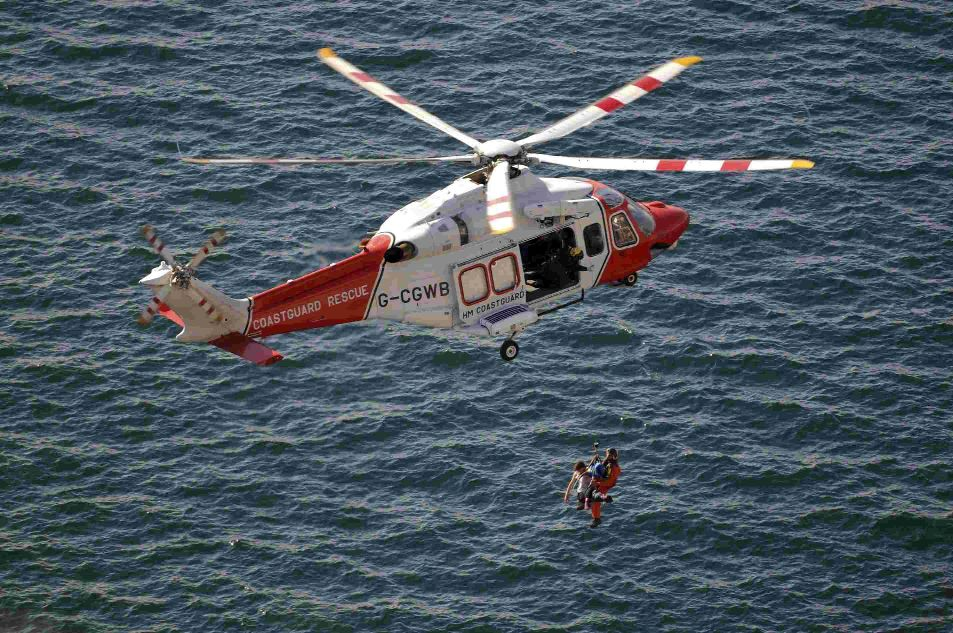 Two divers airlifted to Poole for emergency treatment