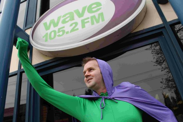Don your superhero outfit for the day and help raise cash for kids