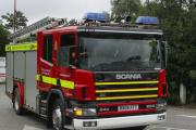 60 firefighters battle heath fire in Bovington