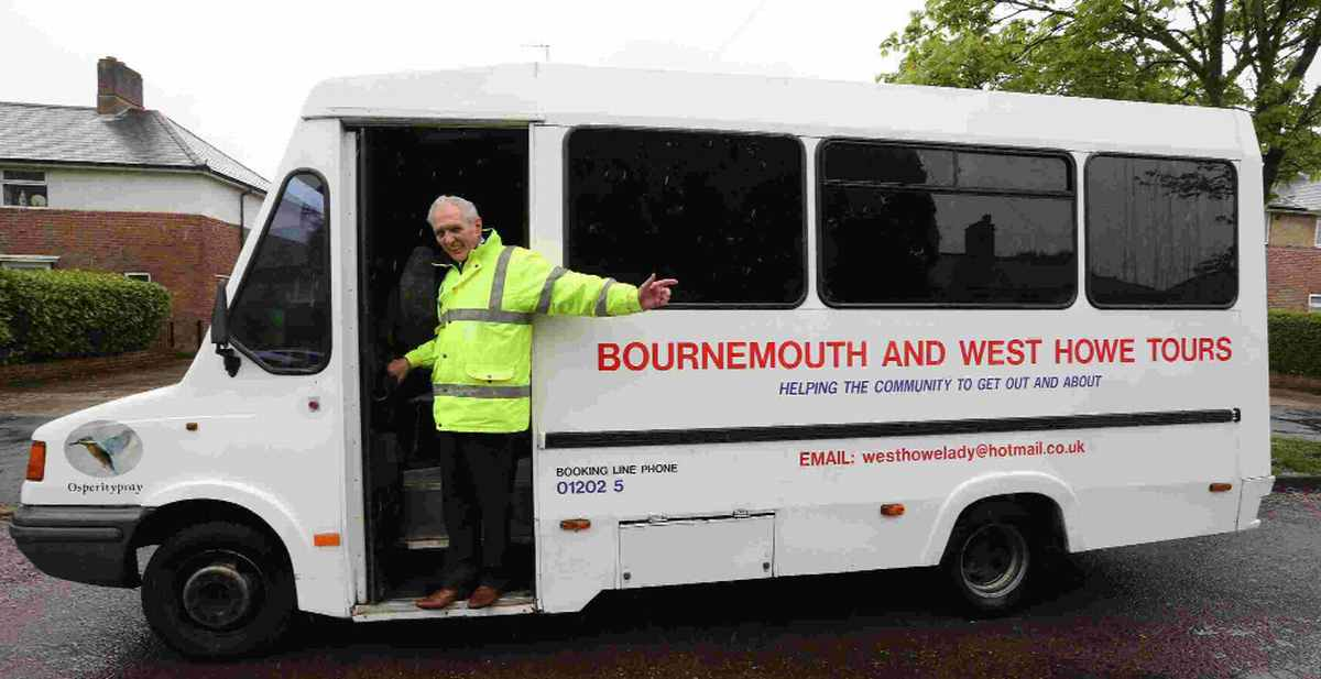 PLEA: Peter Fletcher is appealing for help to continue running his community minibus