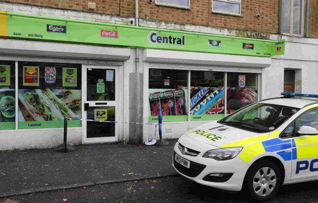 Hunt for man after attempted robbery at West Howe store