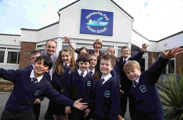 'One big family' - caring ethos for staff and students at Hamworthy Park Juniors