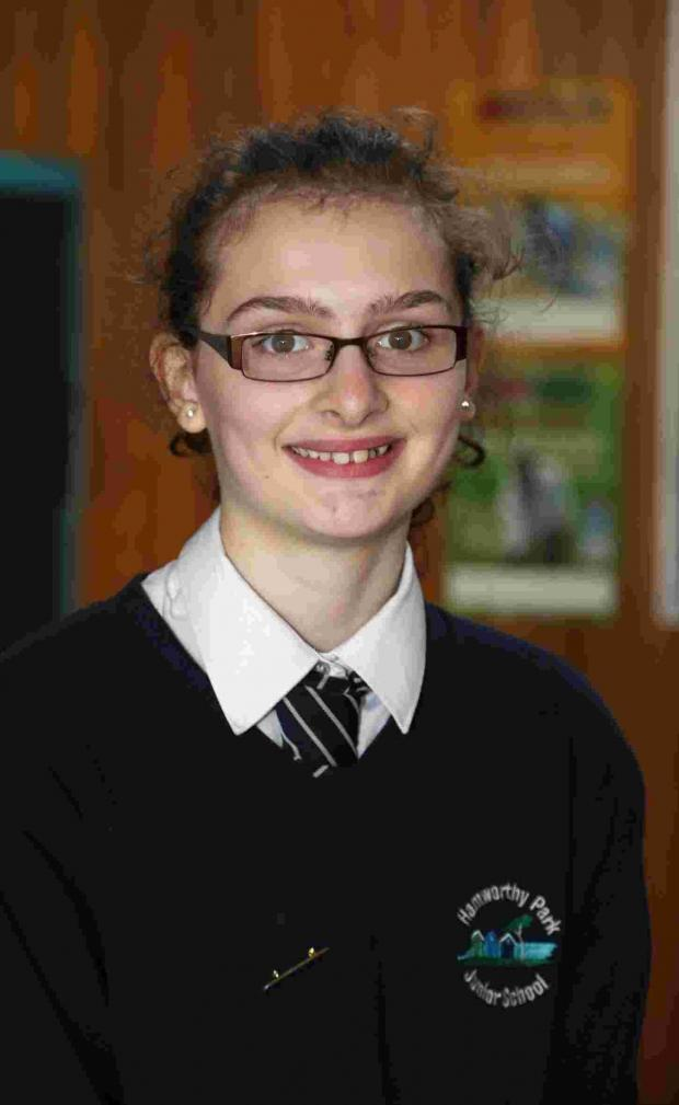 Bournemouth Echo: Carla Drane, pupil