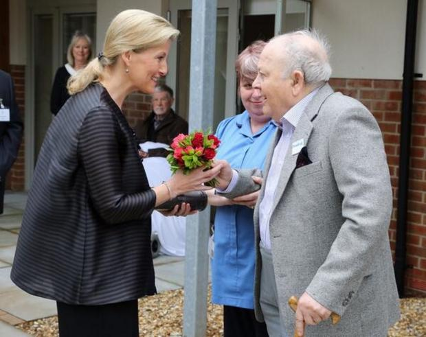 Countess of Wessex visits Lewis Manning hospice in Poole