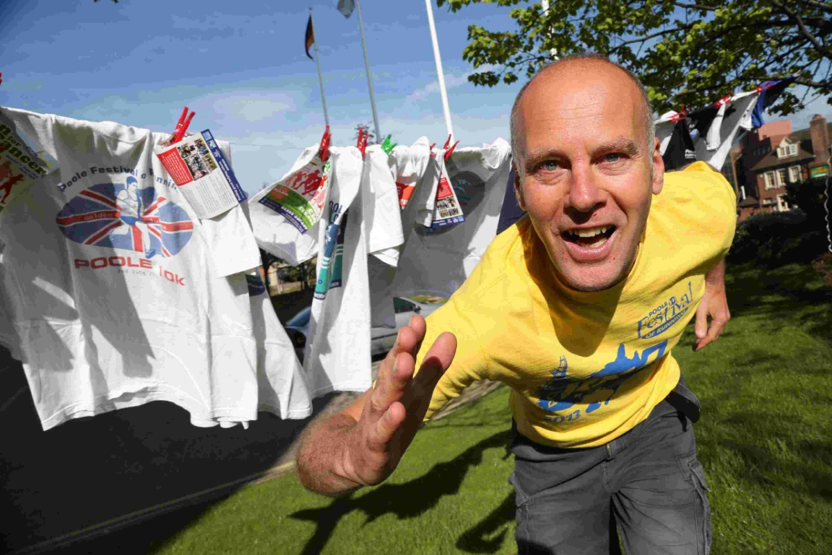 STEPPING OUT: James Fuller who is taking part in his 18th Poole Festival of Running