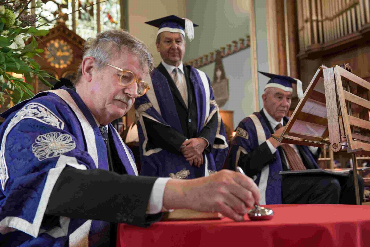 SPECIAL DAY: Sir Christopher Frayling becomes chancellor