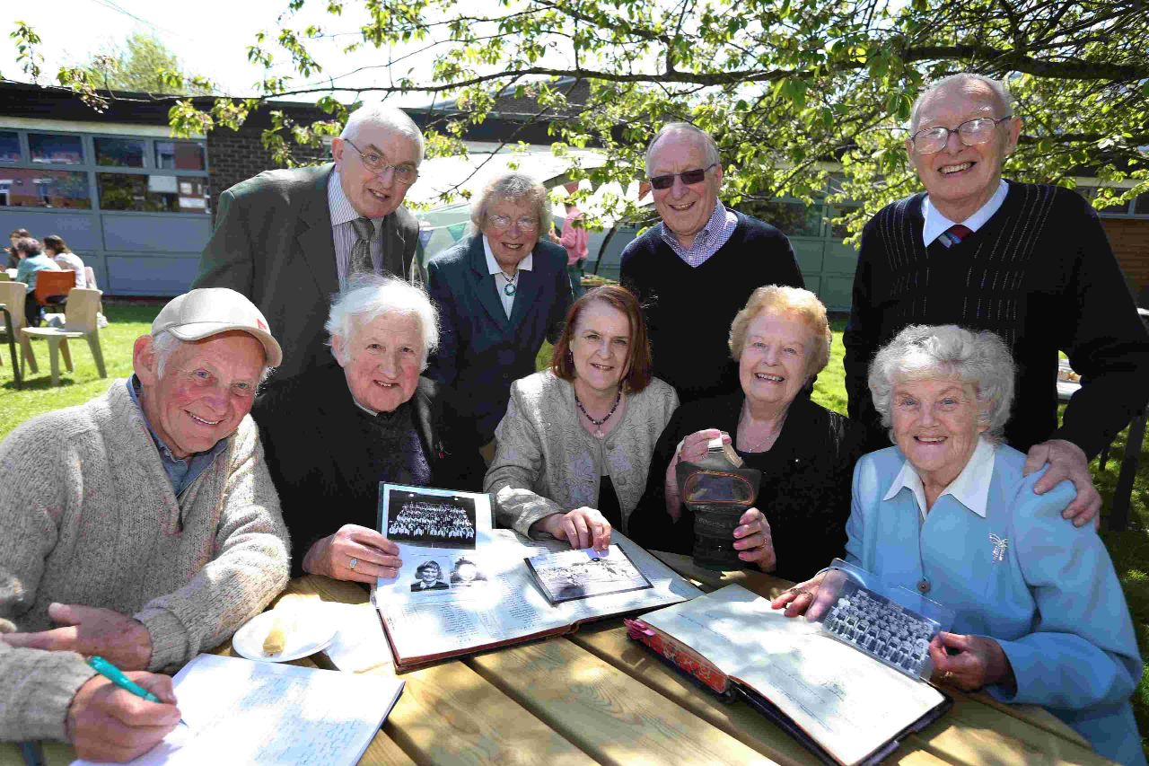 Pupils past and present celebrate 75 years of Poole High School