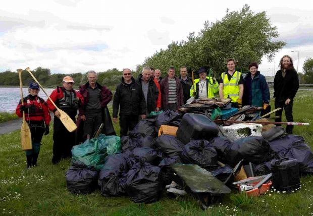 'DANGEROUS' LITTER: Clean up at Holes Bay