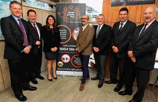 Bournemouth Echo: SET UP: Members of the Dorset Growth Hub team