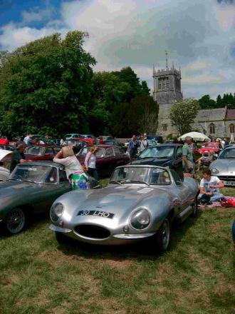 RALLY GOOD: Cars will be the stars at Lulworth Castle this summer