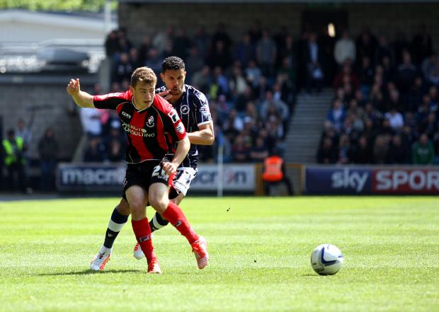ON THE MEND: But Ryan Fraser is unlikely to appear in any of Cherries' remaining four friendlies