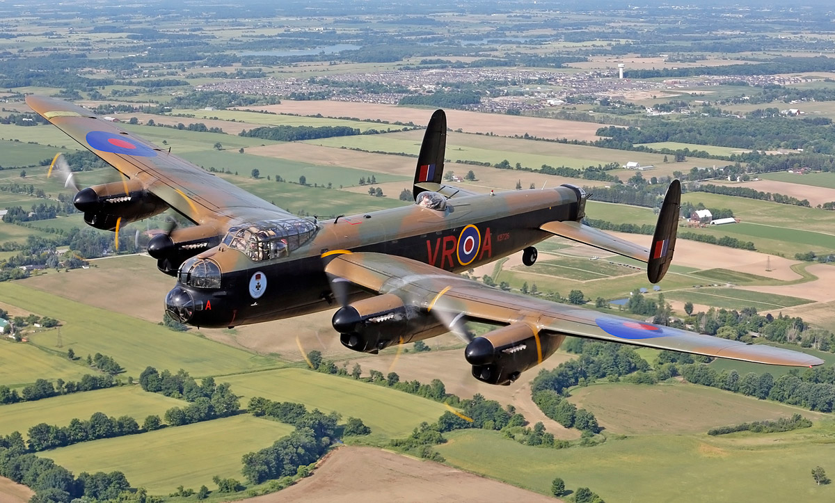 Historic flight confirmed for Bournemouth Air Festival as two Lancasters to fly together