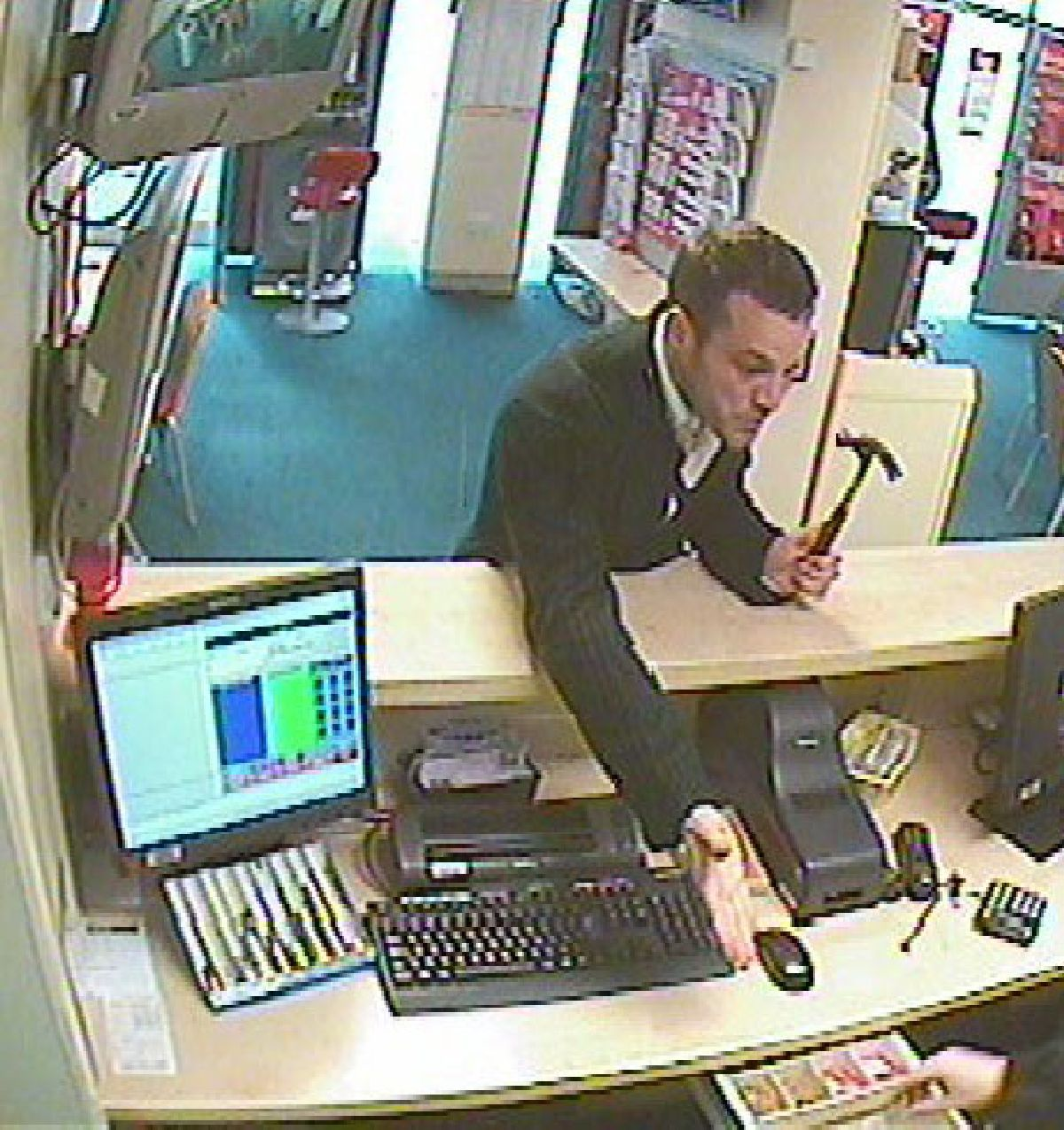 Police linking two robberies at Coral and Ladbrokes betting shops within 24 hours