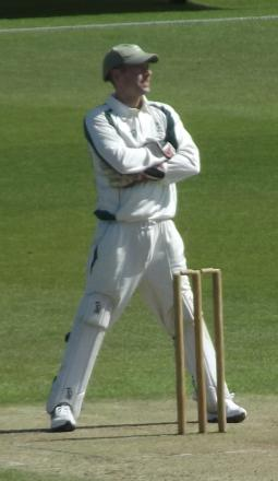 BAD START: Dorset skipper Chris Park