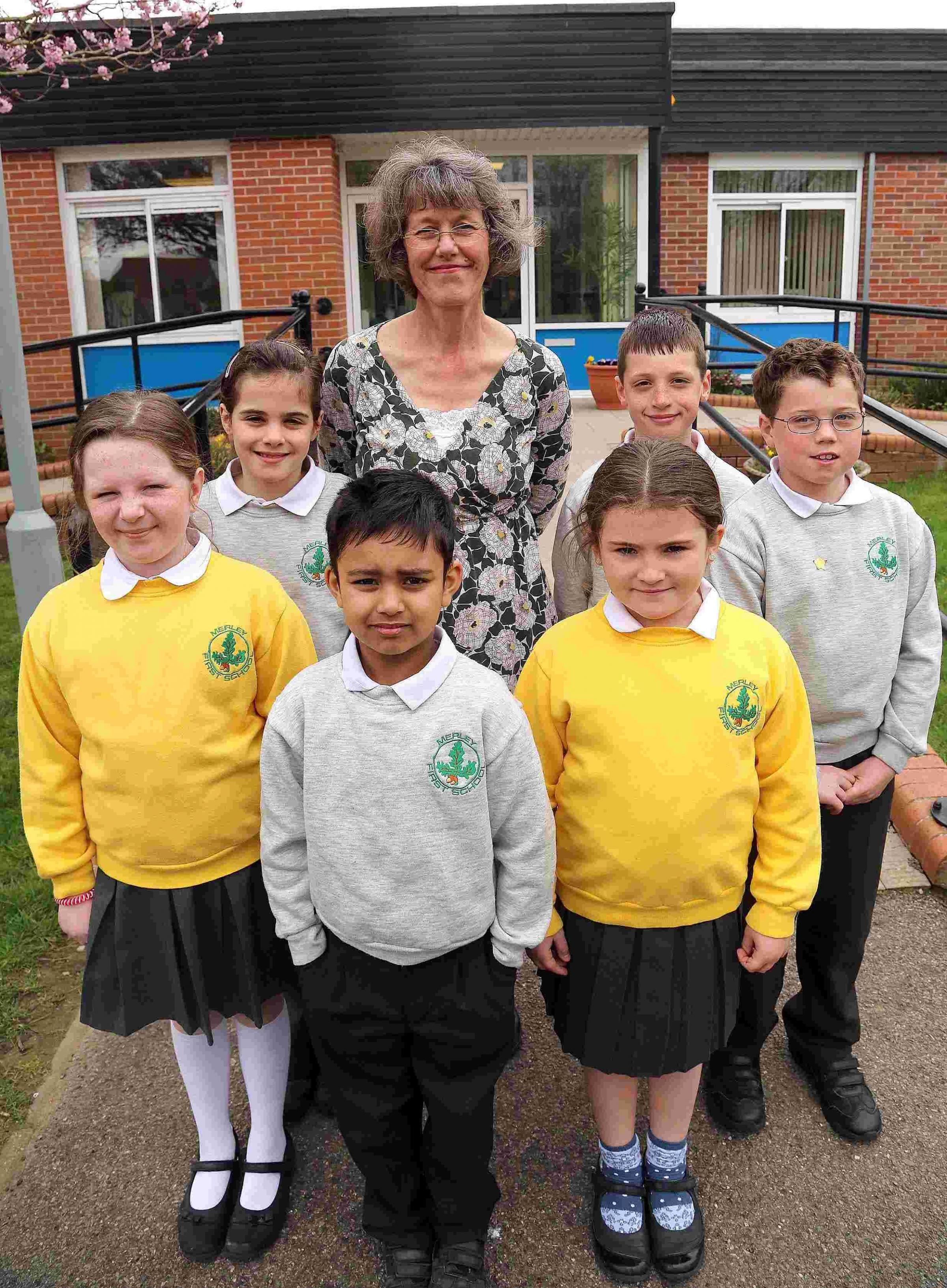 Merley First School's emphasis on exciting learning and pupil enjoyment