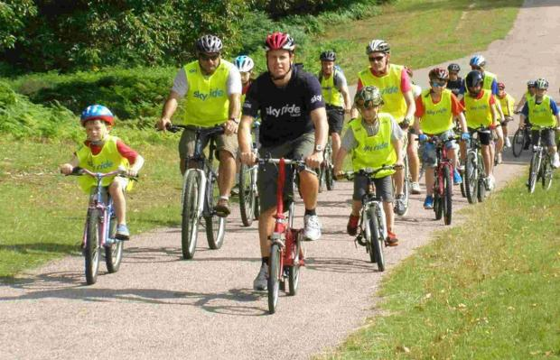 On your bikes! New season of Sky Rides start in Bournemouth next month