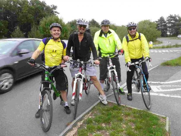 Group of cyclists to tackle 1,000-mile bike ride for heart club