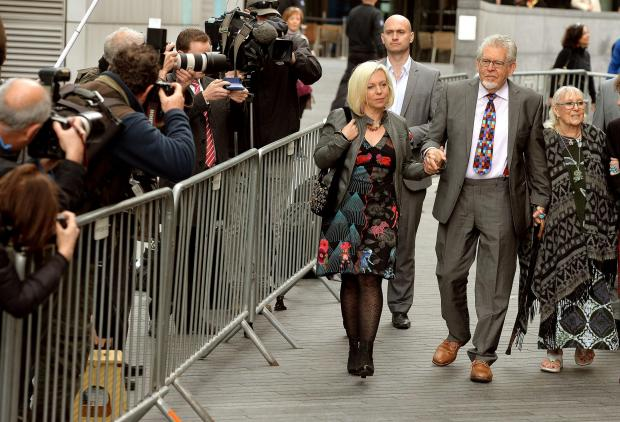 Rolf Harris guilty of 12 counts of indecent assault