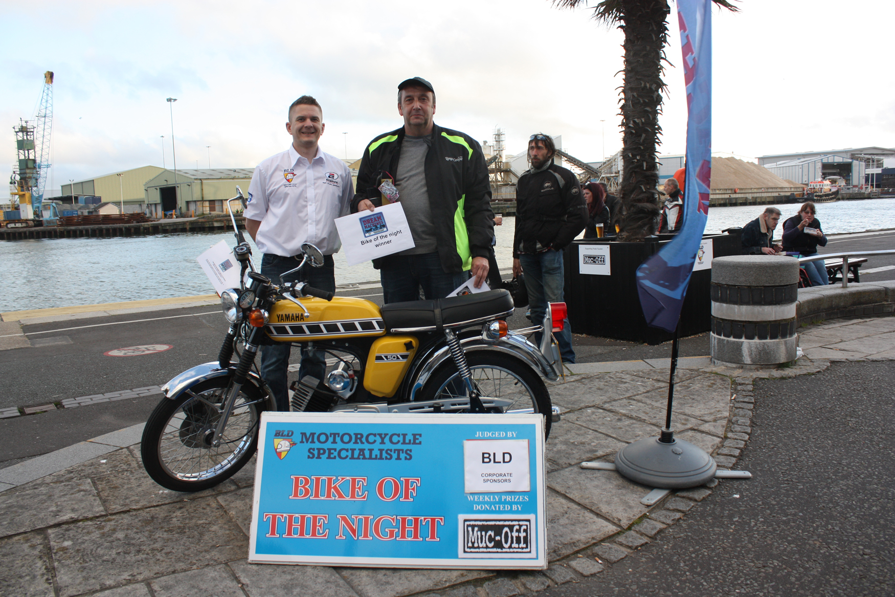 More than 700 motorbikes gather at Poole Quay for latest bike night