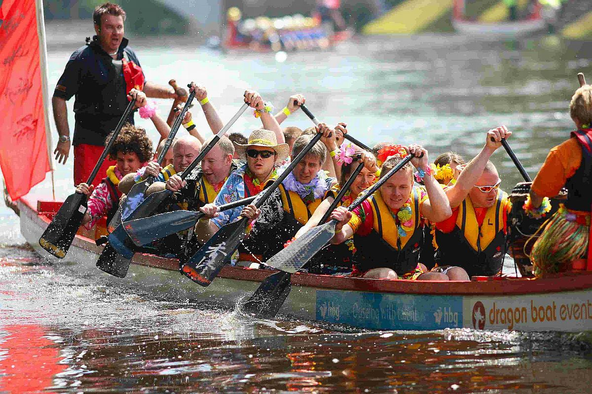 Bournemouth Echo: Teams urged to stick their oars in for charity Chinese Dragon Boat Race