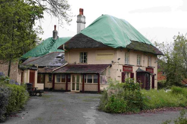 CONVERSION: The Thatched House pub in East Howe Lane, Kinson