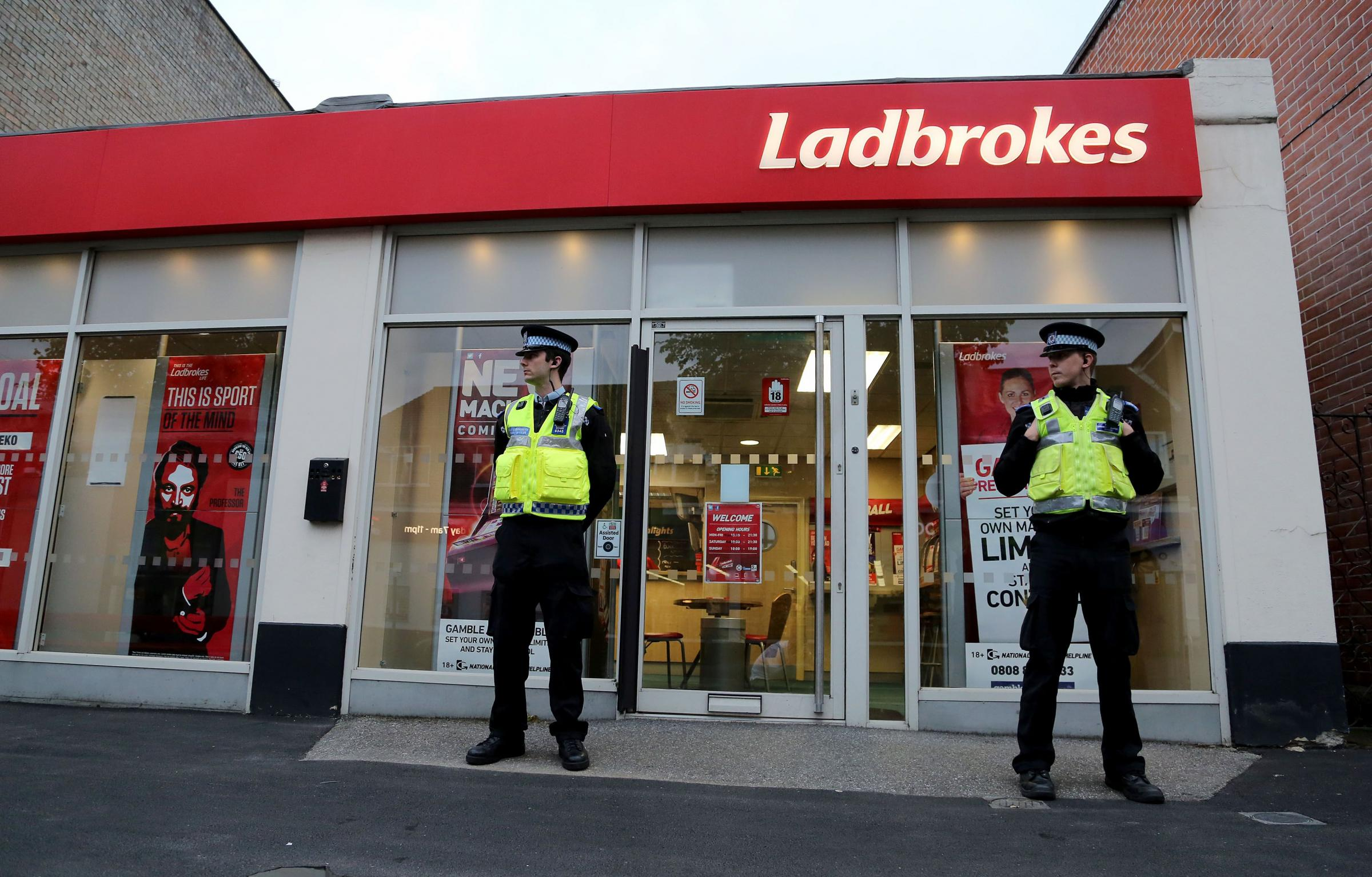 Man arrested in connection with betting shop robberies