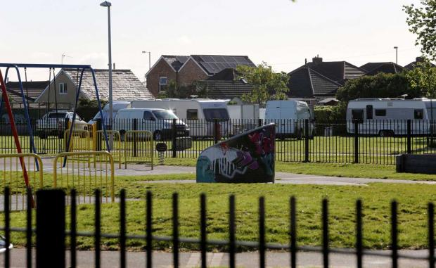 Eviction orders sought for two traveller camps in Poole