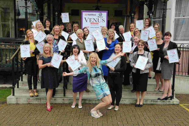 Businesswomen who have been nominated for the NatWest Venus Awards