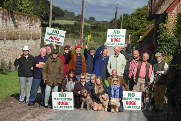 Bournemouth Echo: OPPOSITION: Campaigners