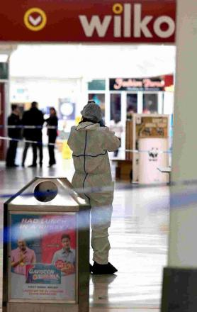 FORENSICS: Police at the Sovereign Centre