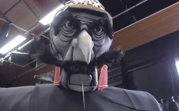 VIDEO: Giant puppets to parade through Bournemouth to promote students' play