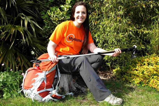 CHARITY: Georgina Pegg is climbing Kilimanjaro for cancer charity Myeloma UK, after losing a friend to the disease in January