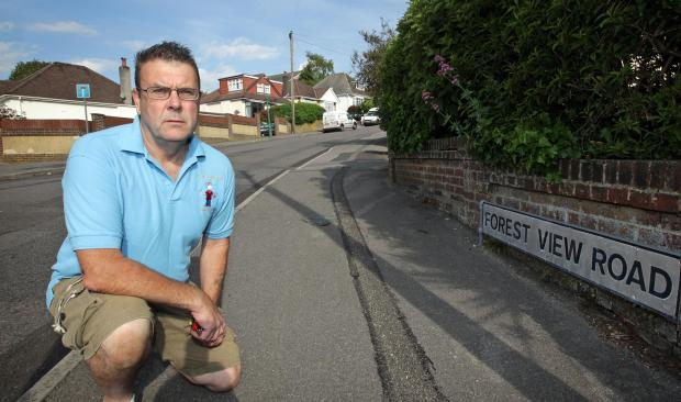 Bournemouth Echo: Paul Cooper, who found injured cyclist in Forest View Road, Bournemouth