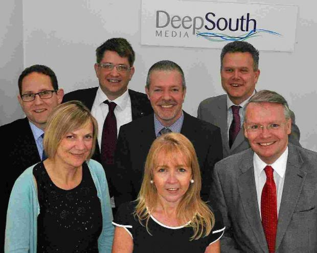 ACCOUNT DIRECTOR: Debbie Granville, pictured front row, centre