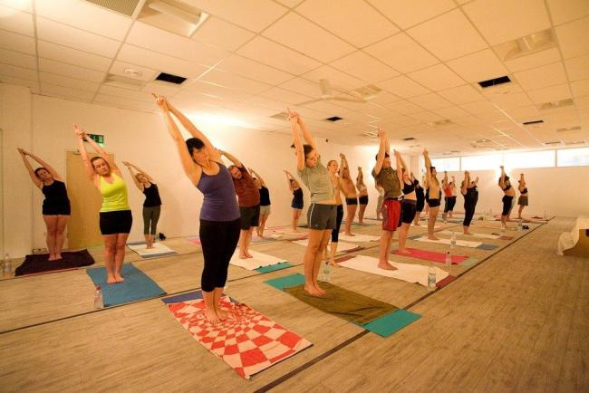 Bikram Yoga - sweaty? yes, hard work? yes, but you'll want to go again