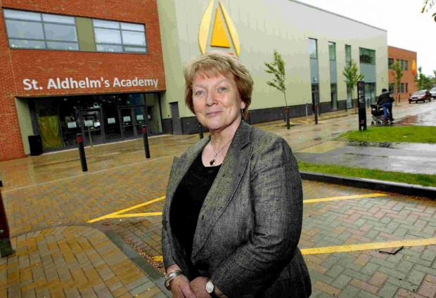 TAKING CHARGE: Monica Cross, interim principal at St Aldhelm's Academy