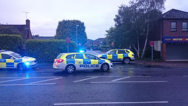 Three men charged over Broadstone incident - photo by Dan Beer