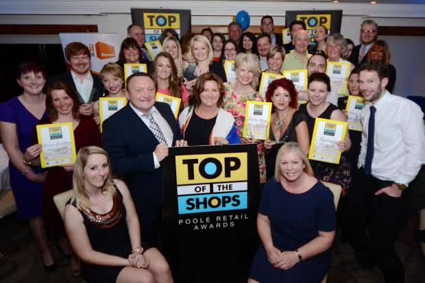 All the winners of the 2014 Top of the Shop Awards