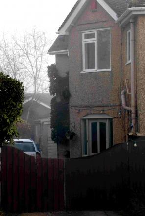 TRAGEDY: The house in Lonnen Road where the body of Philip Simmons was found